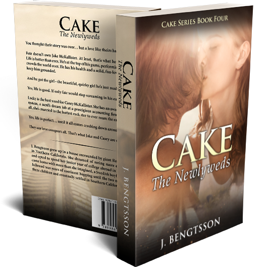 CAKE: The Newlyweds Signed Paperback