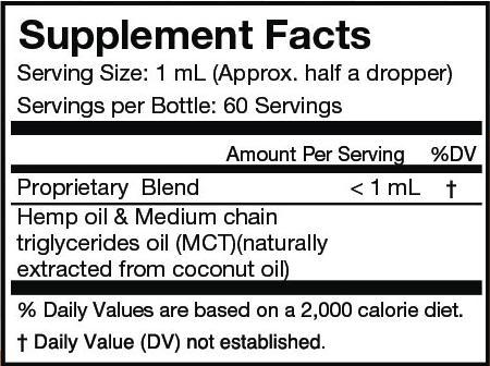 CBD Peppermint Oil - 2oz