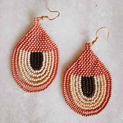 Terra cotta seed bead