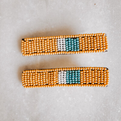 Beaded Hair Clip SBHA0201