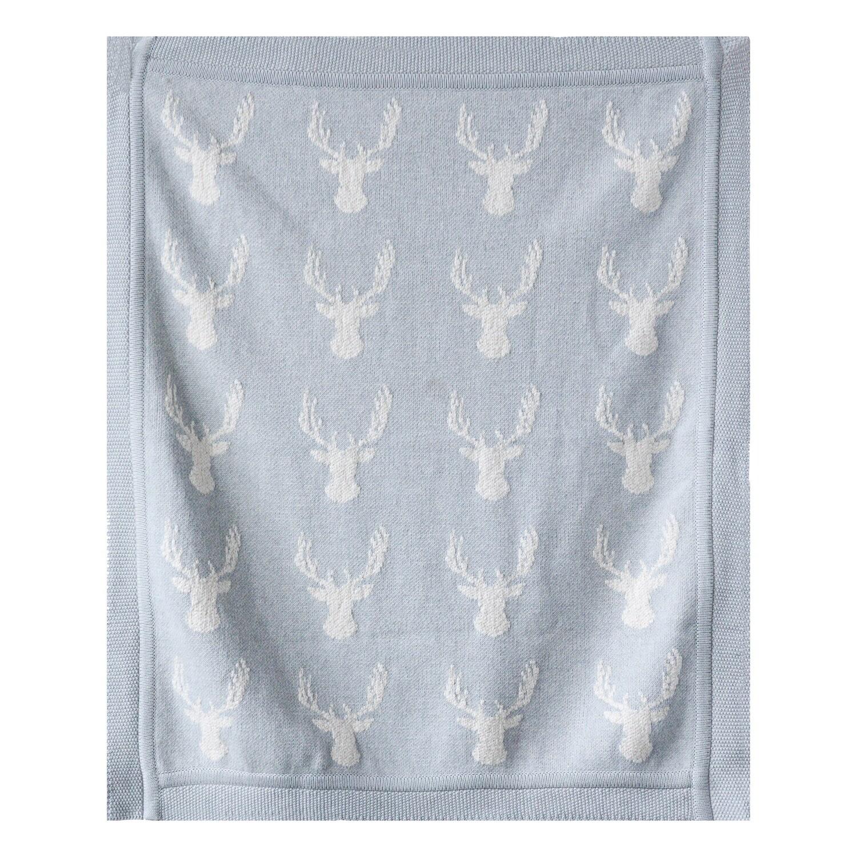 Grey Deer Blanket da9091