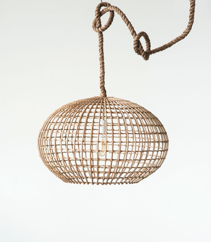 Wicker Lamp df0420