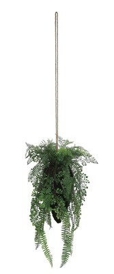 Faux Hanging Fern df0923