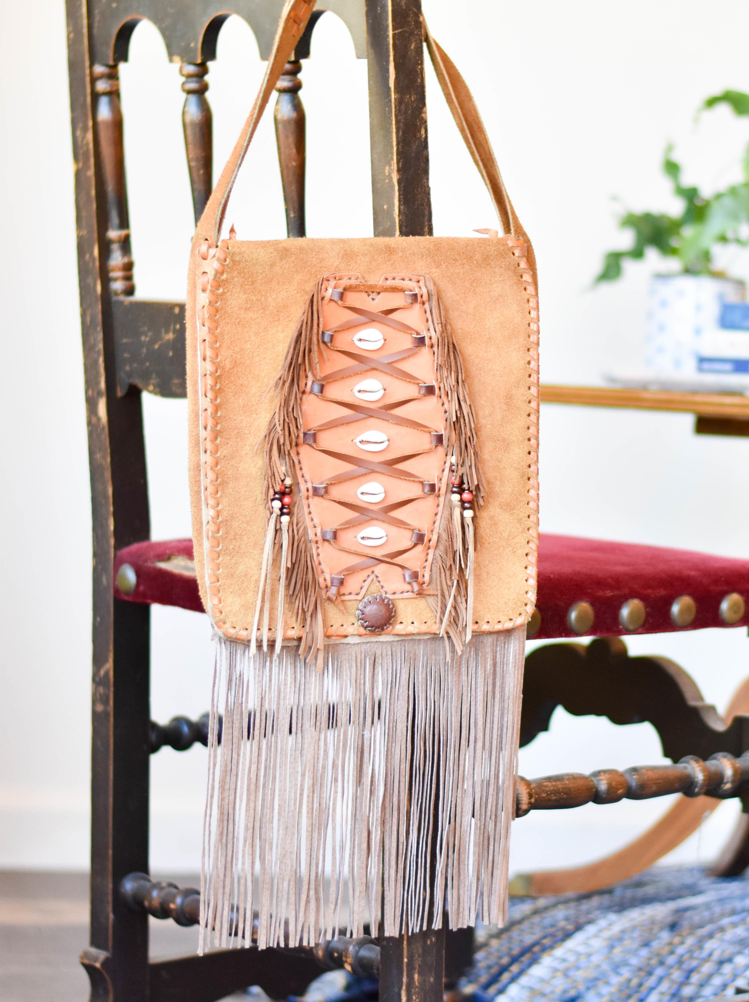 leather boho fringe bag YCZHP2S52P8H2