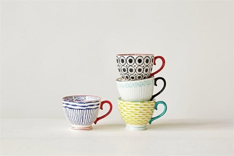 stoneware hand painted mug da7743a K0Z9D58DC6724