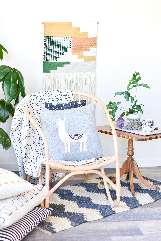 llama knit pillow da9883 6EKSFE9VED720