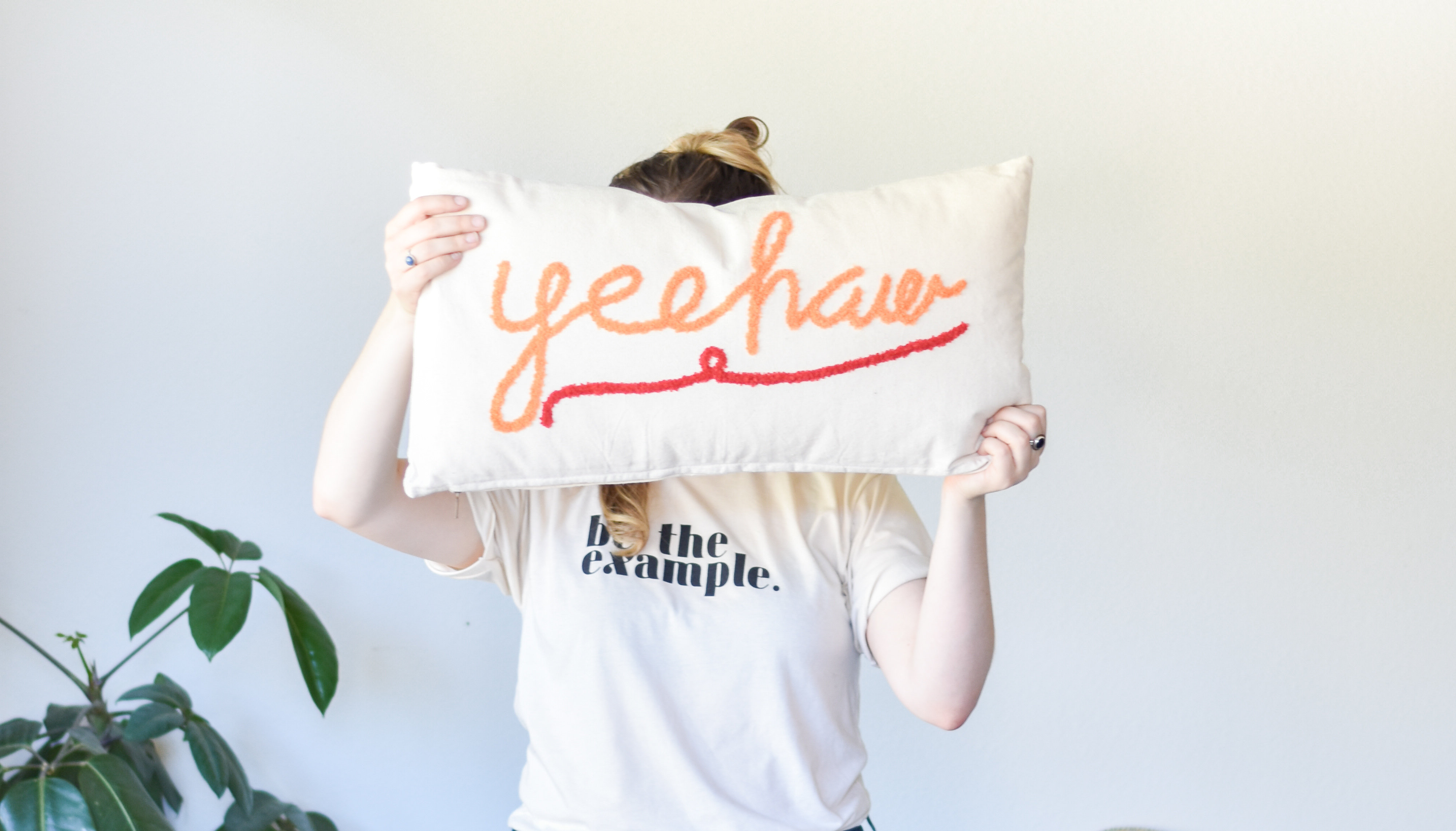 yee ha pillow da9905