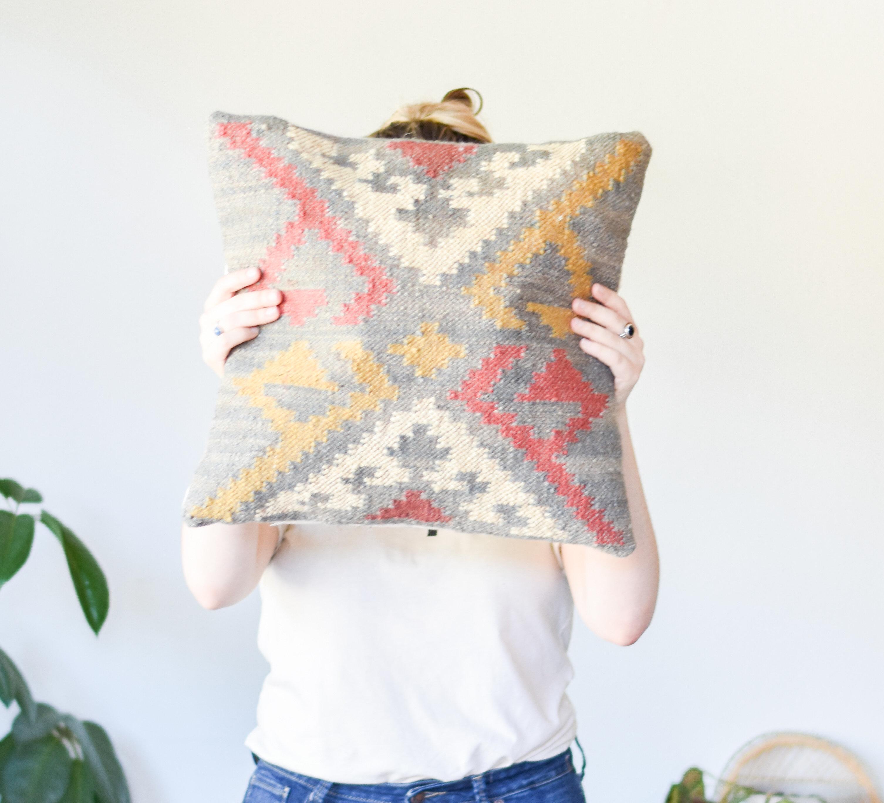 Square Kilim Pillows