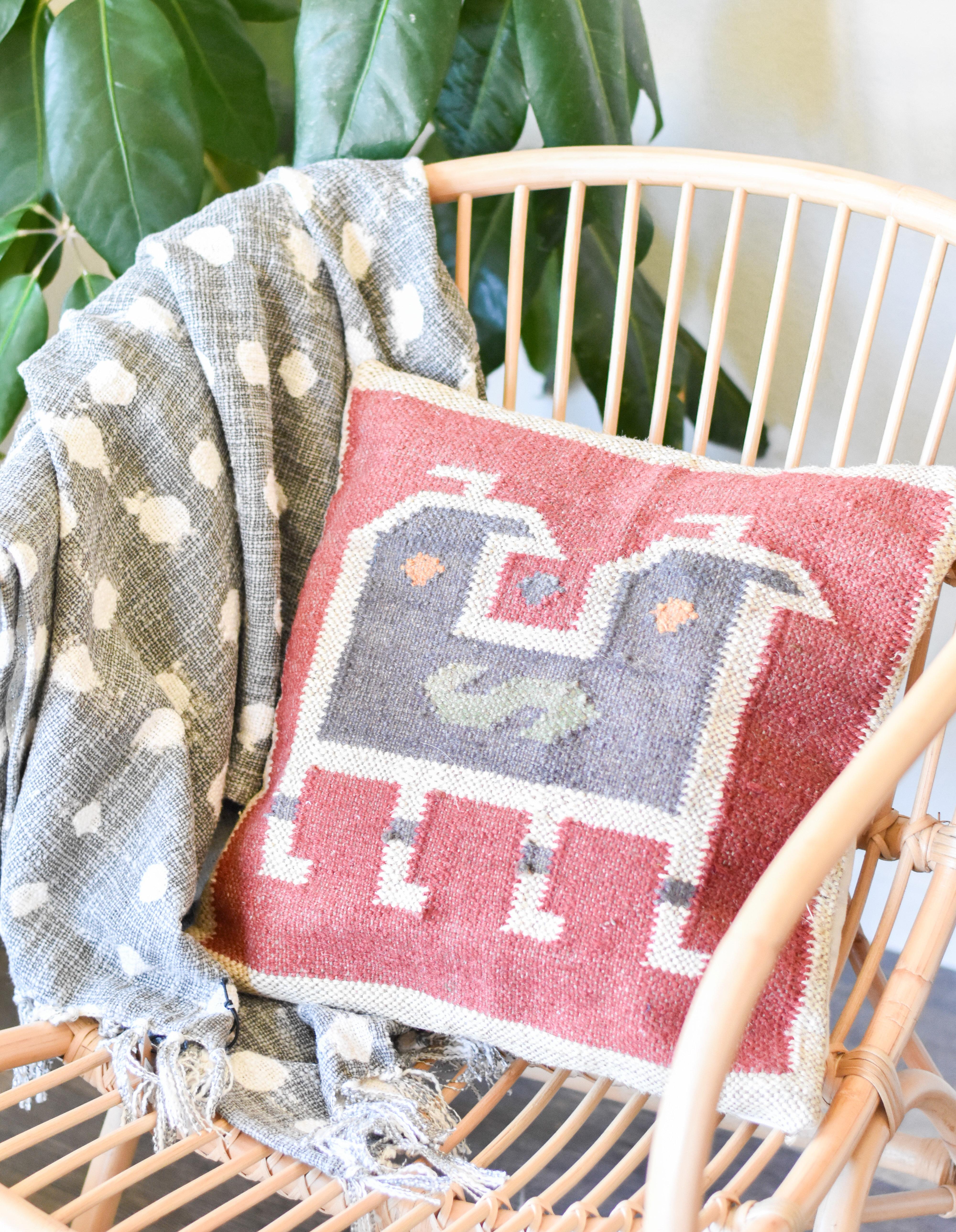 Square Kilim Pillows BGZQJC4VMFFKC