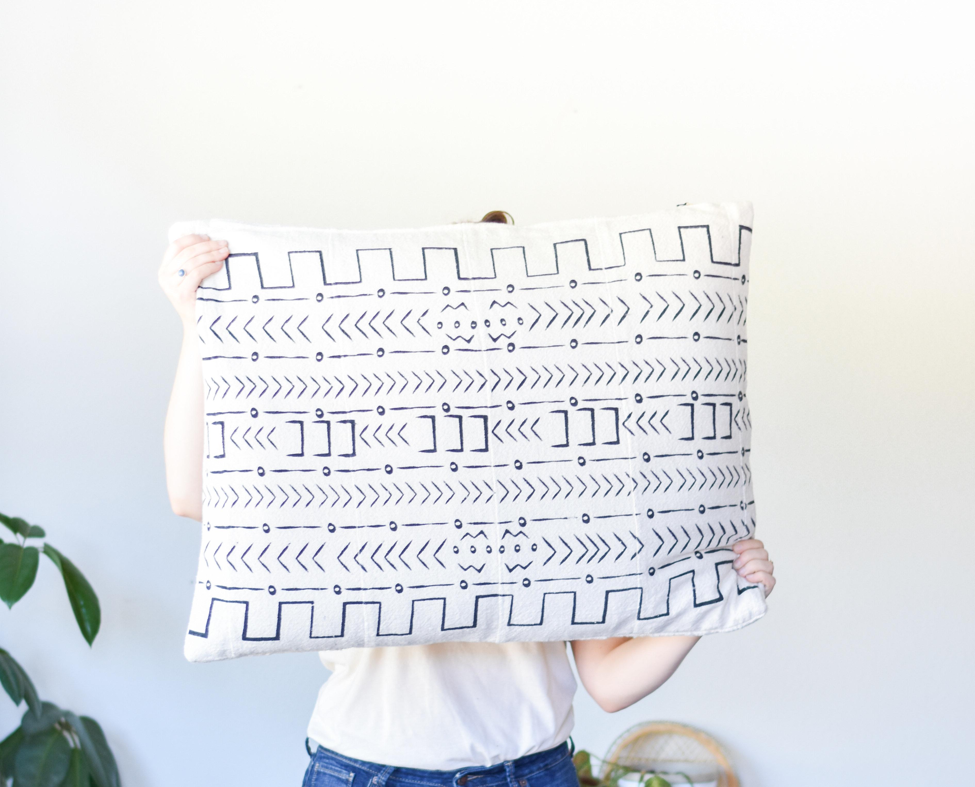 Mud cloth Pillow Rectangle Da9836 TQEYQ8DEG0C6G