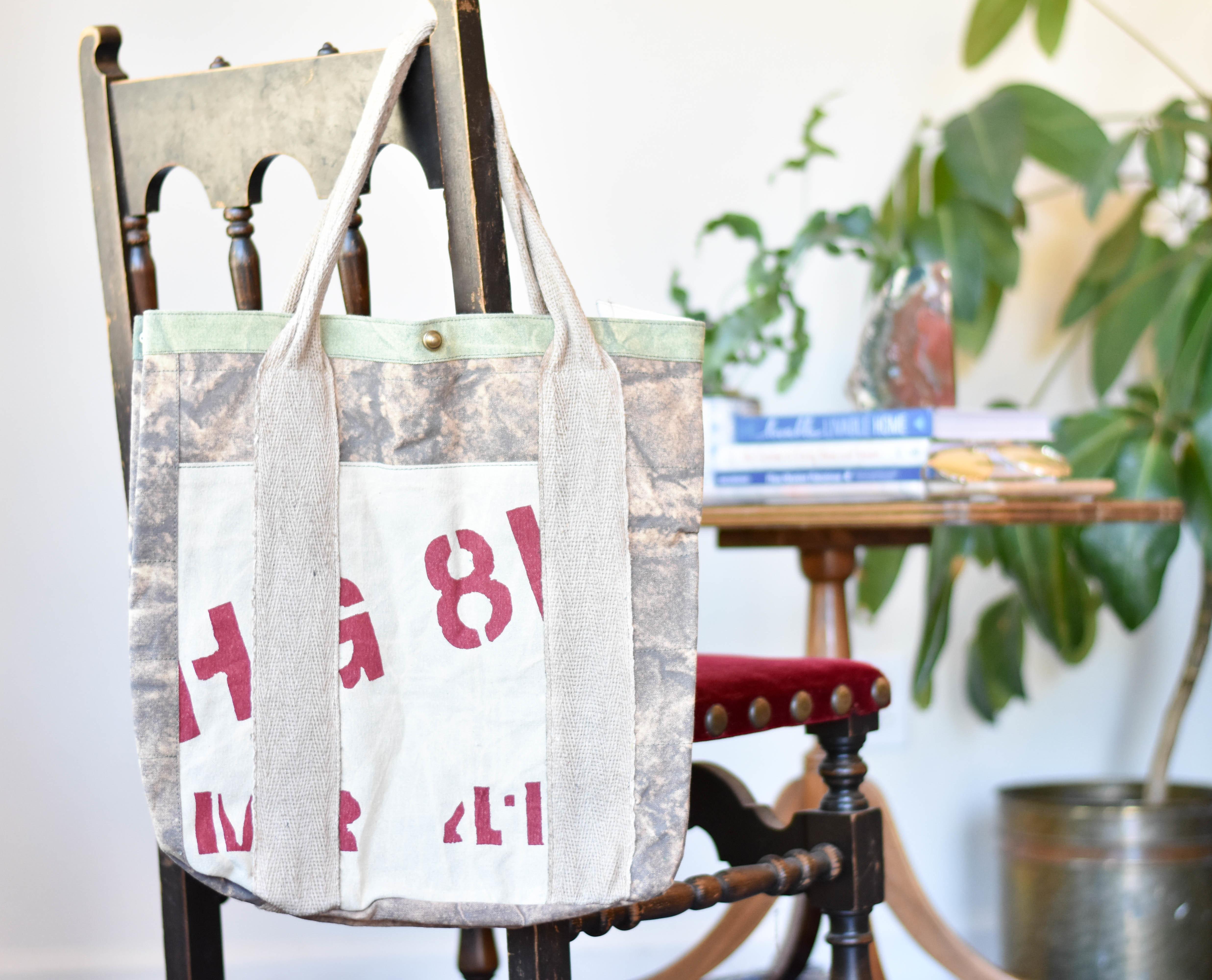 canvas printed bag em0210 X42QP2RG0BCNP