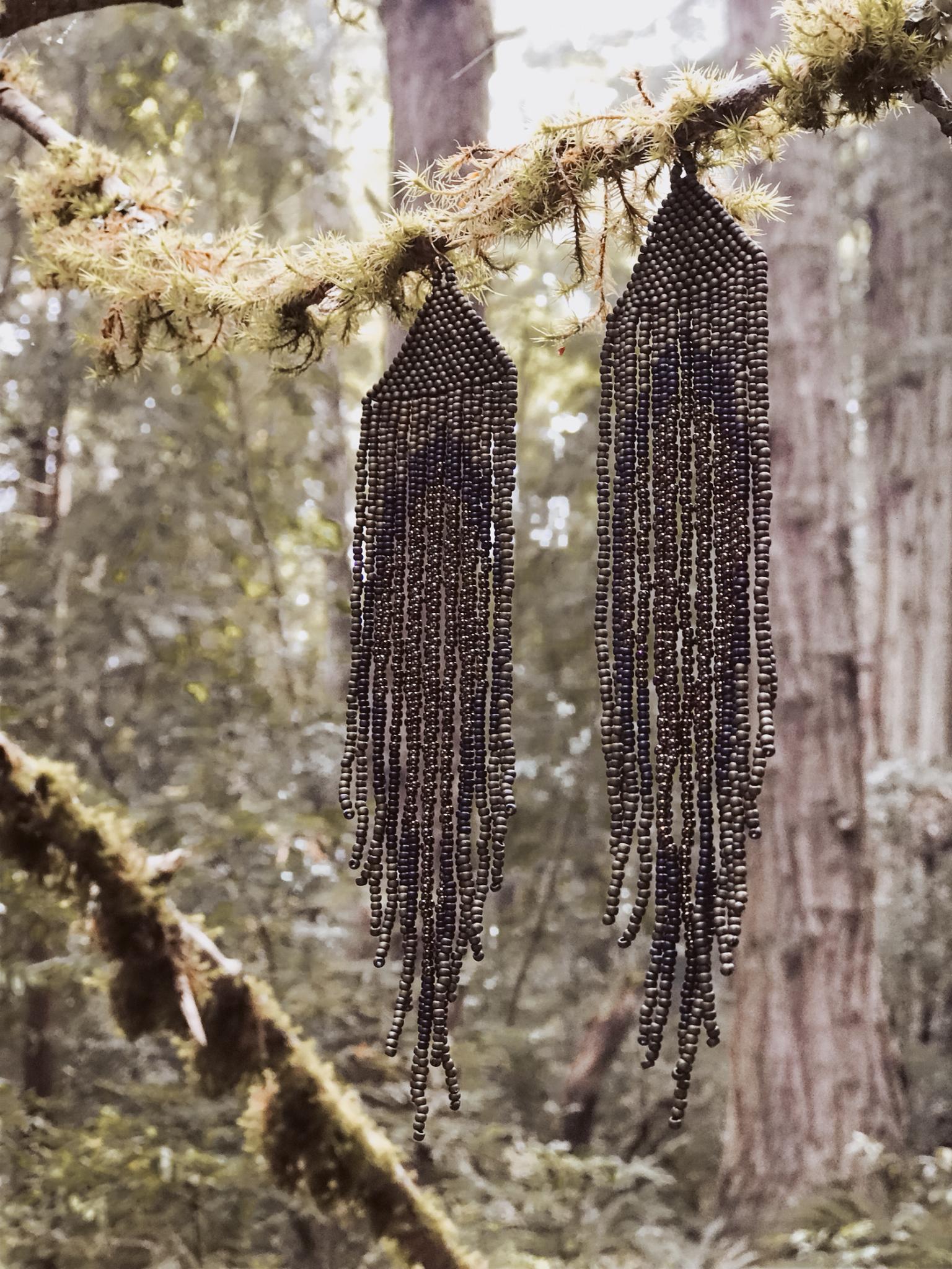 geode shoulder dusters in forest A0BW6STDVEHGP