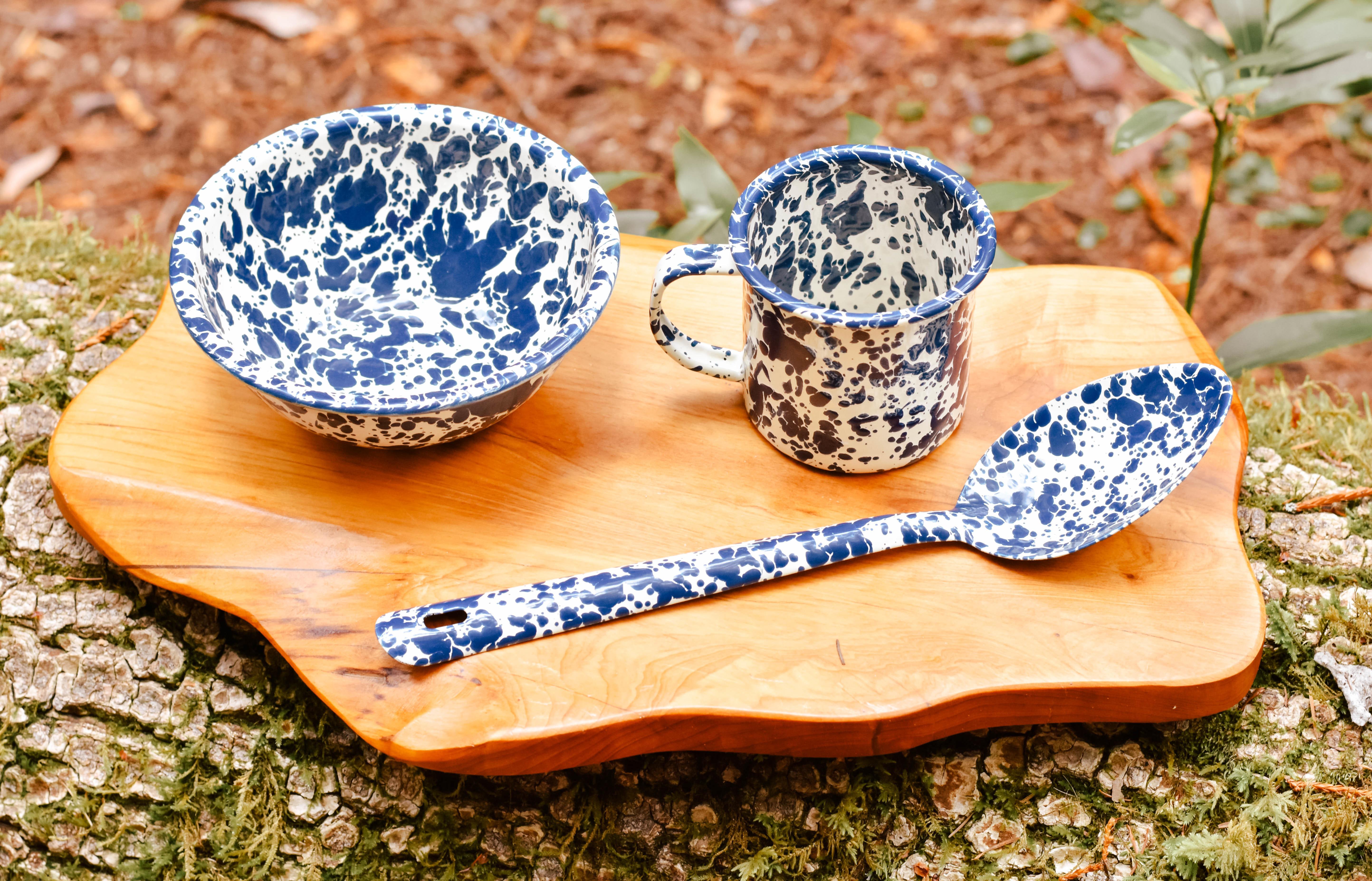 """splatterware large serving spoon 12"""""""