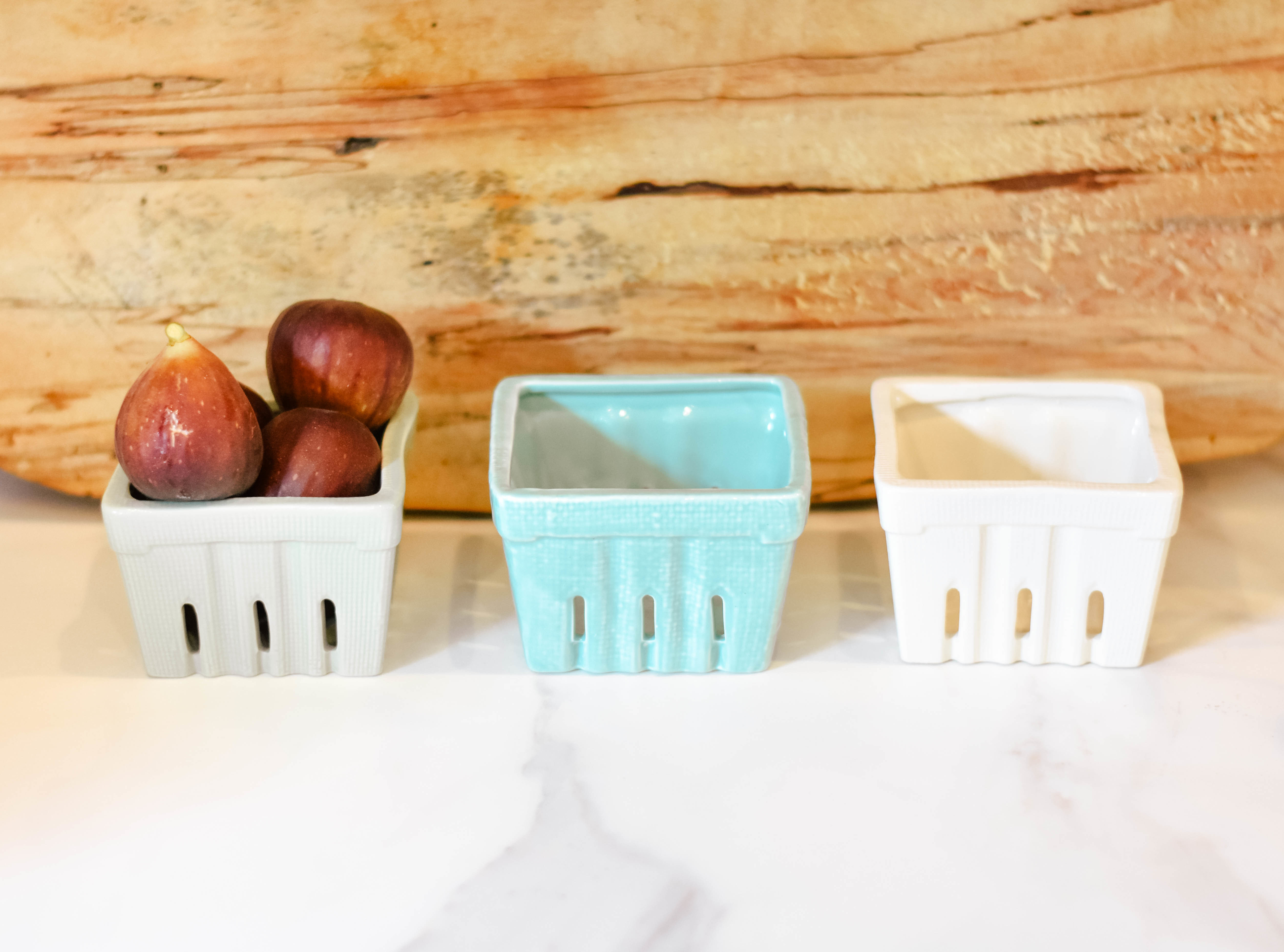 berry basket stoneware da3027a