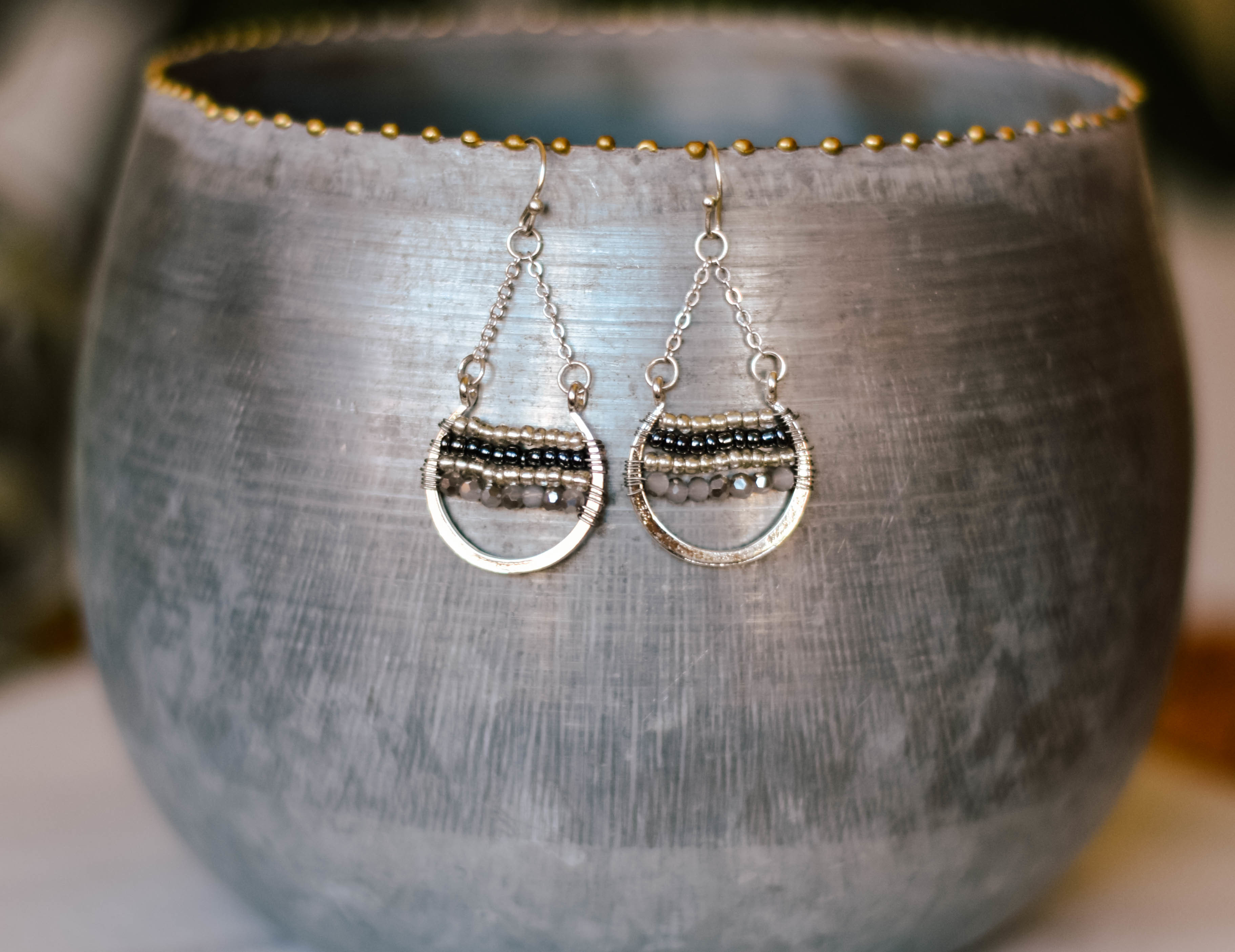 earrings small open round e1082-sch 7GC1APBPVKA2G