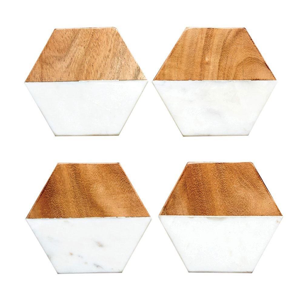 marble and wood coasters da6336 45VAY54QE4RAG