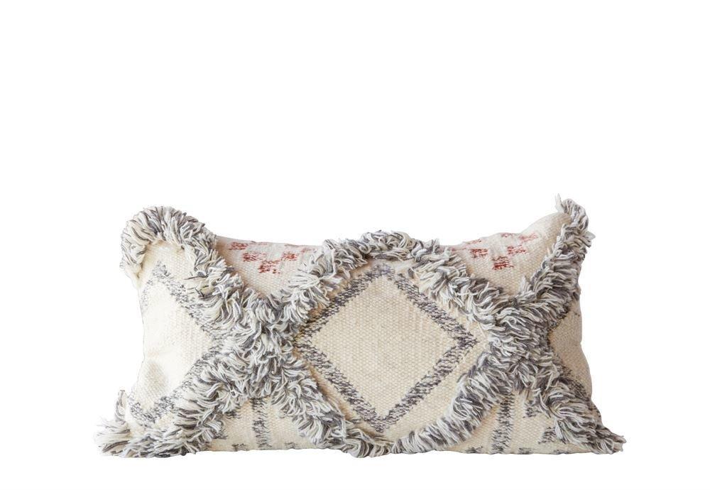 wool fringe kilim pillow da8142 7HYC6RM8DBJ3M