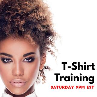 T-Shirt Training LIVE 00010