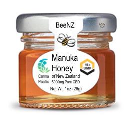 Manuka 15+ 1000mg Honey 1oz (28ml)