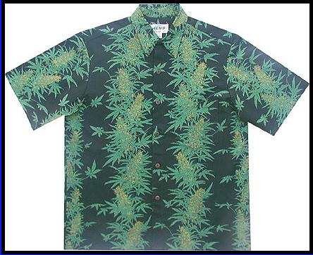 Black Pakaloha Hemp Shirt