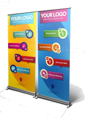 1 Roll-Up Banners