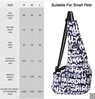 Dog/Cat Carrier Slings