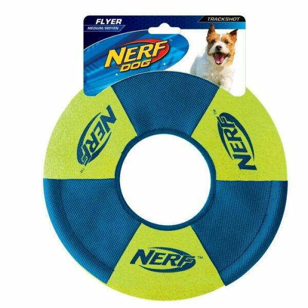 Nerf Dog Toss and Tug Ring Dog Toy