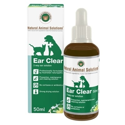 Natural Animal Solutions Ear Clean