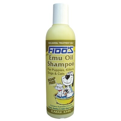 Fido's Emu Oil - Pet Shampoo