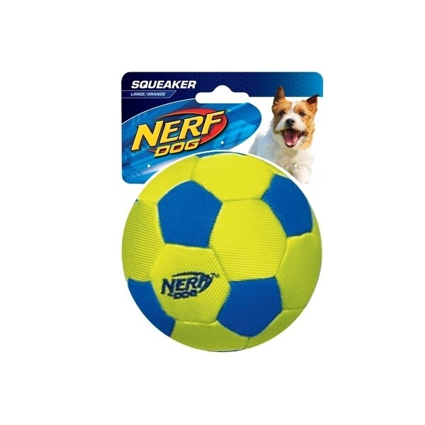 NERF Dog Trackshot Nylon Soccer Ball