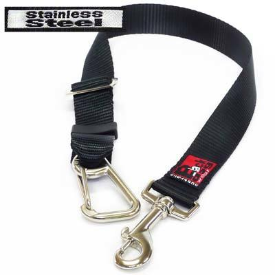 Black Dog Car Strap - Ute Strap Stainless Steel 00085