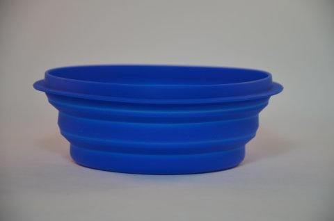 Collapsible Silicon Dog Bowl large 00091