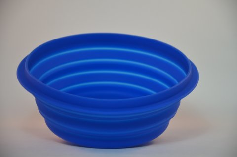 Collapsible Silicon Dog Bowl large