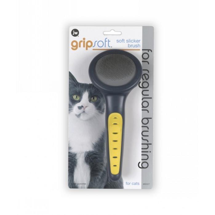 Gripsoft Soft Cat Slicker Brush 00129