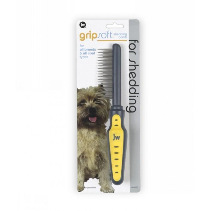 Gripsoft Shedding Comb for Dogs 00132