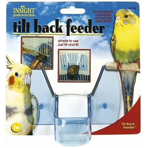 Tilt Back Bird Feeder