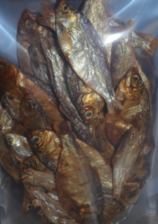 Aussie Dried Fish Dog Treats - Herring 80g