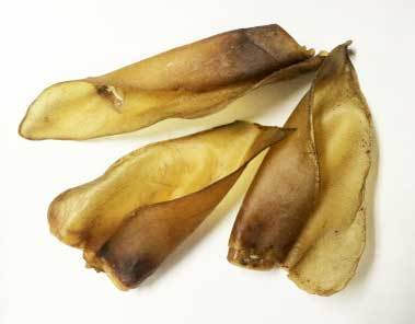 Australian Cows Ears -  bulk ( 4 in a packet ) 00200