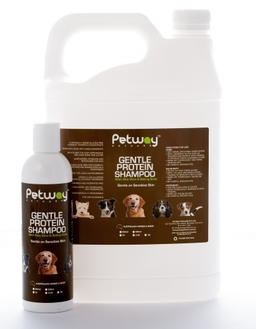 Petway Gentle Protein Shampoo with Aloe Vera - 250ml