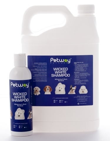 Petway Wicked White Whitening & Stain Removal Shampoo - 250ml