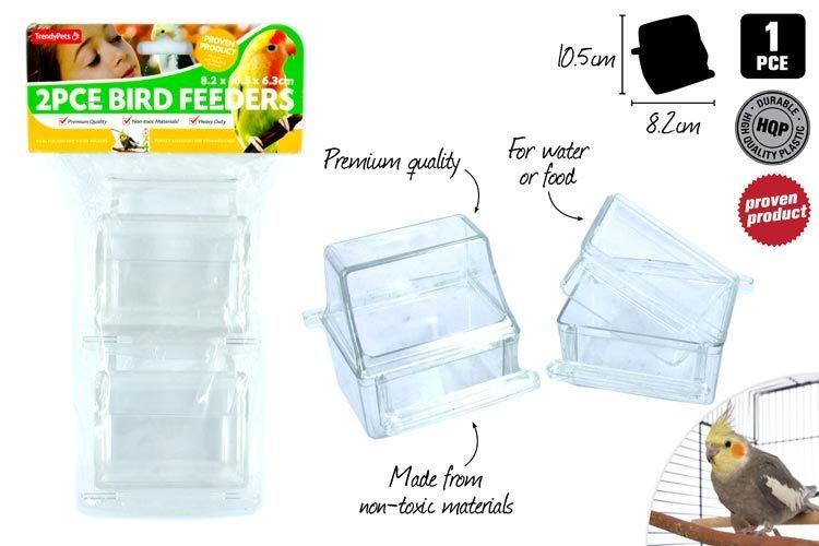 Bird Cage Feeder- 8.1x10.5x6.3cm