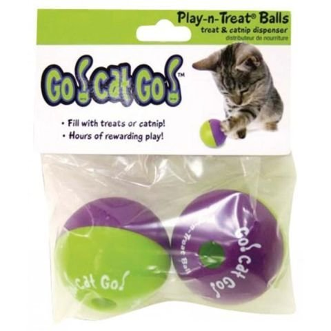 Go! Cat! Go! Play-N-Treat BALL 00236