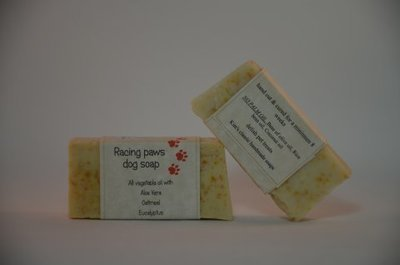 Racing Paws Dog Soap