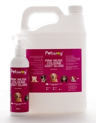 Petway Pink Musk Cologne Coat Gloss - 250ml