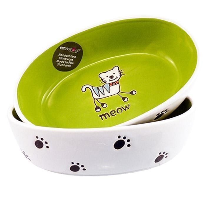 Silly Kitty BOWL - OVAL  16cm