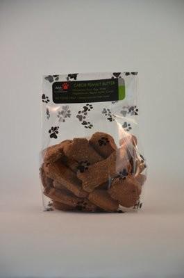 Carob Peanut Butter Dog Treats
