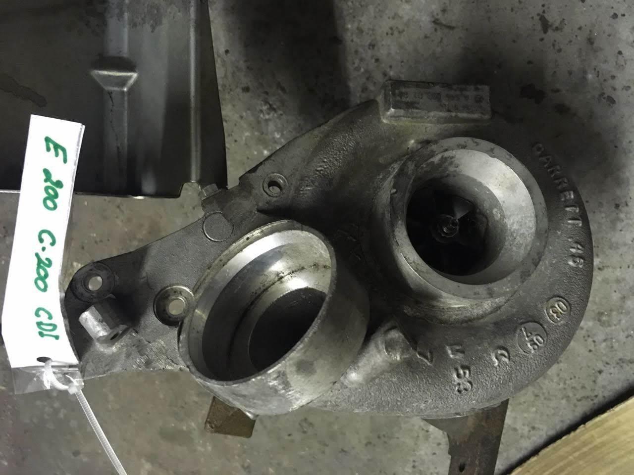 Mercedes e Klasse Turbo