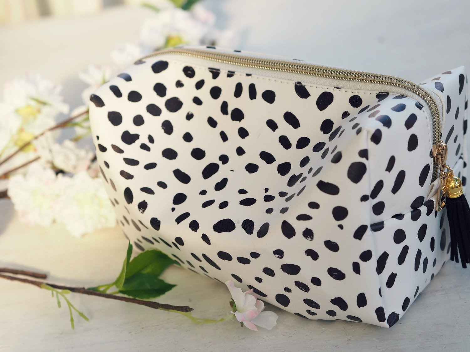 Dalmation Makeup Bag