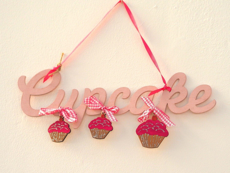 Handmade Cupcake Sign