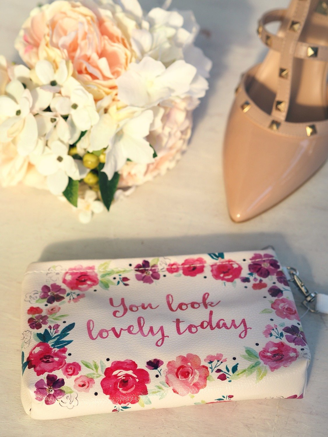You Look Lovely Floral Bag